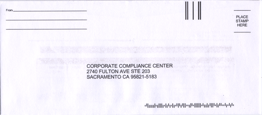 Corporate Compliance Center   The Scam Pages of Alexis Wilke